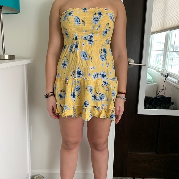 Zaful Dresses | Yellow Floral Summer